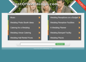 costofweddings.com