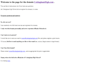 cottinghamhigh.com