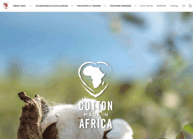 cotton-made-in-africa.com