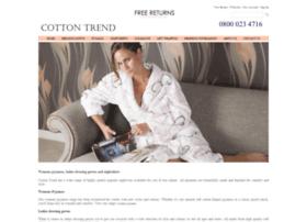 cotton-trend-nightwear.co.uk