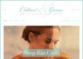 cottonandgems.com