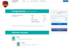 cougaramels.yaentrainement.fr