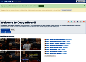 cougarboard.com