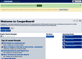 cougarboard.com