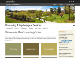 counseling.appstate.edu