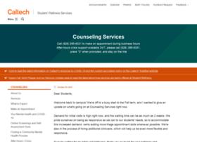 counseling.caltech.edu