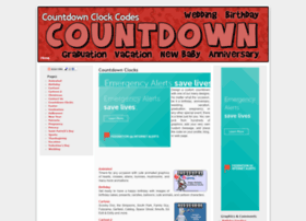 countdownclockcodes.com