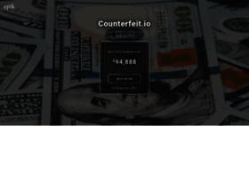 Counterfeit.io