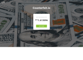 counterfeit.io