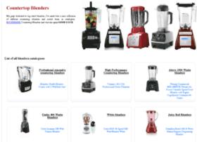 countertop-blenders.com
