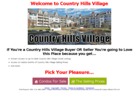 countryhillsvillagecondos.com