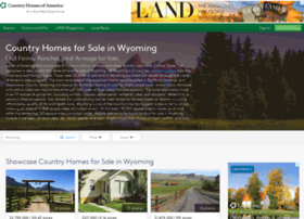 countryhomesofwyoming.com