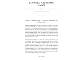 countryvacationsqatar.wordpress.com