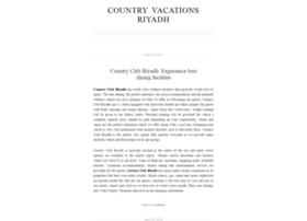 countryvacationsriyadh.wordpress.com