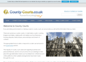 county-courts.co.uk