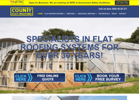 countyflatroofing.co.uk