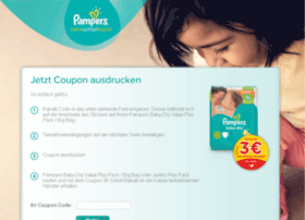 coupon-aktion.pampers.de