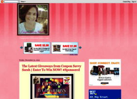 couponsavvysarah.blogspot.in