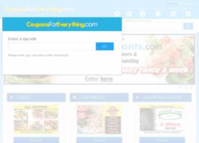 couponsforeverything.com