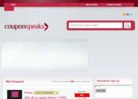 couponspeaks.com
