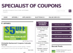 couponspecialist.com