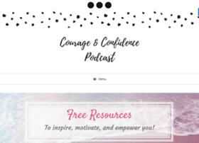 courageandconfidencepodcast.com