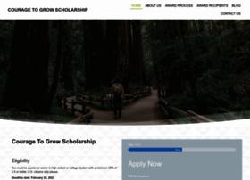 couragetogrowscholarship.com