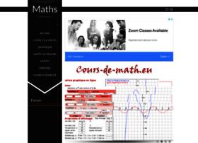 cours-de-math.eu