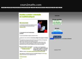 cours2maths.com