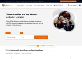 coursanglaisparticuliers.com