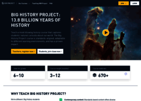 course.bighistoryproject.com