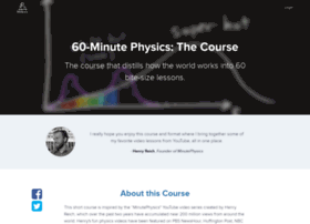 course.minutephysics.com