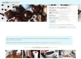 courses.ecolechocolat.com