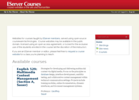courses.eserver.org