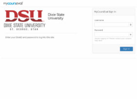 courseval.dixie.edu