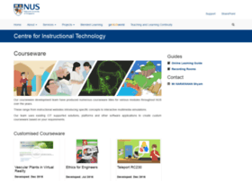 courseware.nus.edu.sg