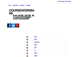 courseworkbank.info