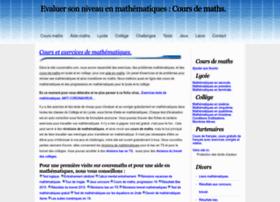 coursmaths.com