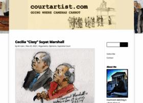 courtartist.com
