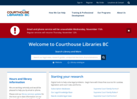 courthouselibrary.ca