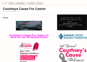 courtneyscauseforcancer.com