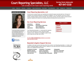 courtreportingspecialists.com
