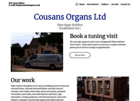 cousansorgans.co.uk