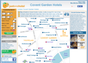 coventgardenhotels.com