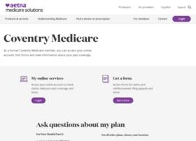 coventry-medicare.coventryhealthcare.com