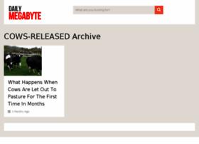 cows-released.dailymegabyte.com