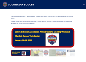coyouthsoccer.org