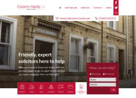 cozens-hardy.com