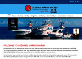 cozumelmarineworld.com