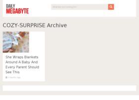 cozy-surprise.dailymegabyte.com